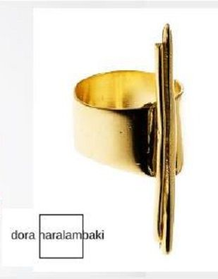 Dora Haralambaki Gold Ring dec 2017