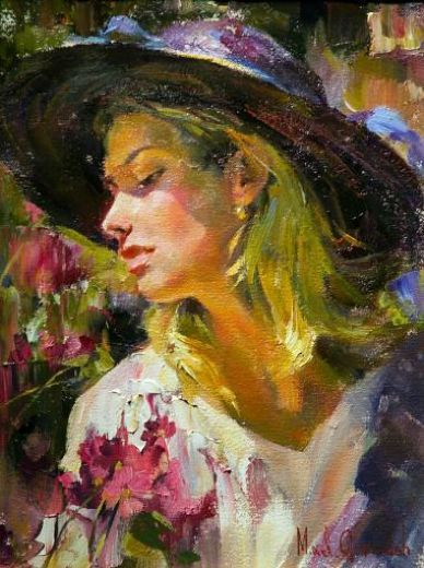Garmash Art | painting subject anastasia by artist garmash art id paintings 76845