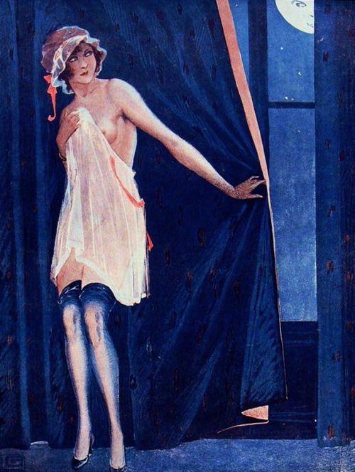La Vie Parisienne 1917 artist Georges Leonnec