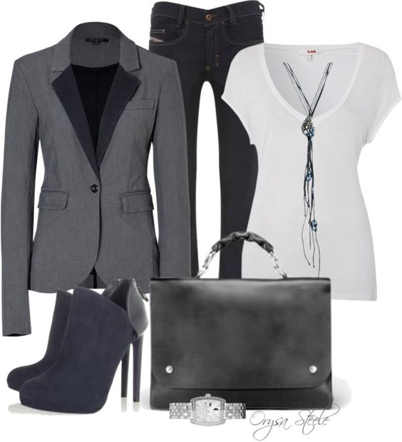 """""""Girl Friday"""" by orysa ❤ liked on Polyvore"""