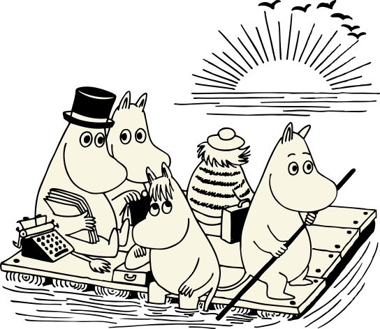 moomin poster - Google Search