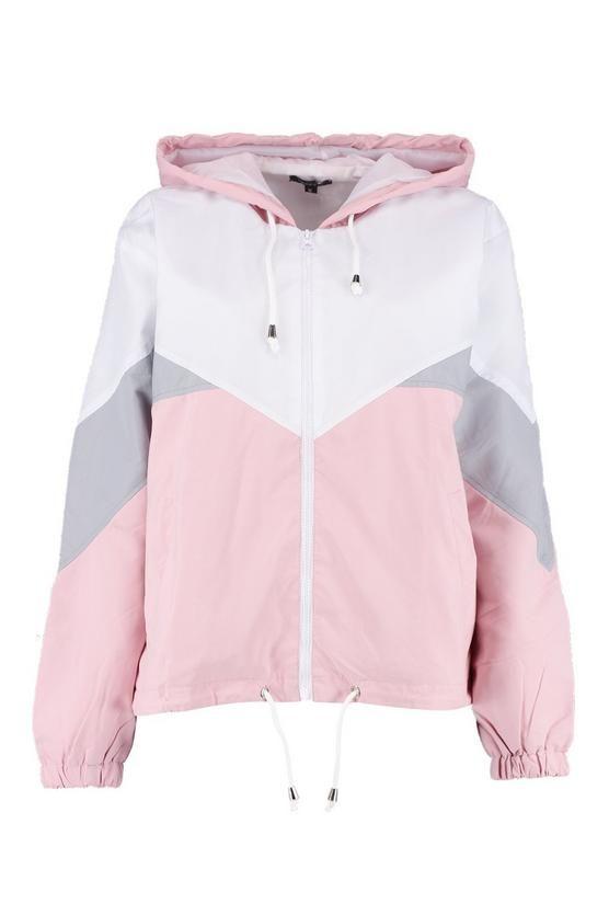 nike chaqueta cortavientos chica rosa