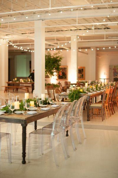 Art gallery reception: http://www.stylemepretty.com/2015/01/09/miami-contemporary-art-gallery-wedding/ | Photography: Katie Lopez - http://katielopezphotography.com/