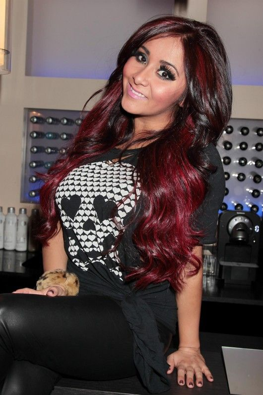 snooki hairstyles : ... snooki but love the color Beauty stuff :) Pinterest Snooki, Hair