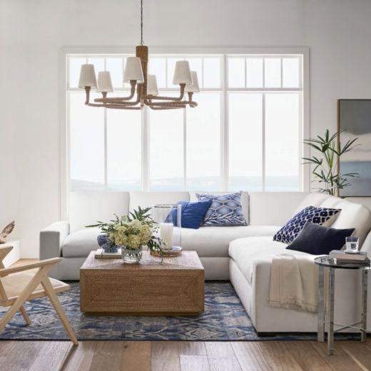 Modern Coastal Living Room Design Ideas