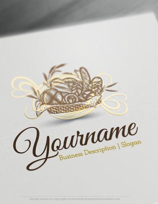 Luxurious Restaurant Logo Maker Online Build Catering Logo Design Logo Design Free Templates Bakery Logo Bakery Logo Design