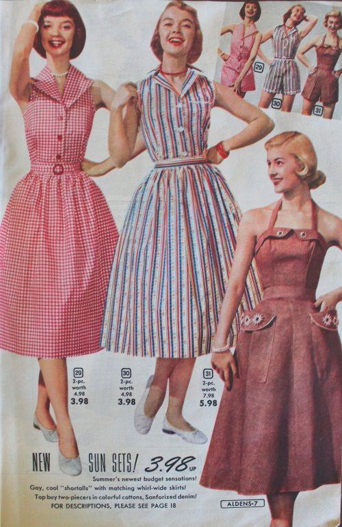1950s Sun Dresses Adorable Designs For A Vintage Summer Vintage 1950s Dresses Vintage Dresses 1950s Fashion