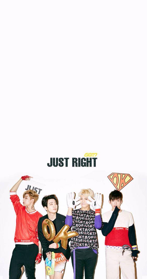 LINE DECO- Bam Bam, Youngjae, Jackson, and Junior~ GOT7 ...