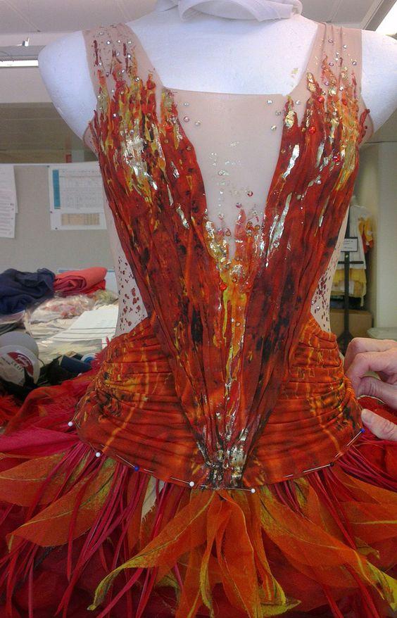 firebird ballet costume - Google Search