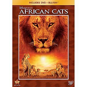 DisneyNature: African Cats - 2-Disc Combo Pack | Disney StoreDisneyNature: African Cats - 2-Disc Combo Pack - Set against one of the wildest places on Earth, you'll experience the extraordinary adventure of two families as they strive to make a home in an untamed land in this stunning nature documentary.