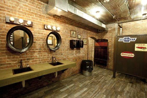 Restaurant restroom lighting http newyorkmarkt