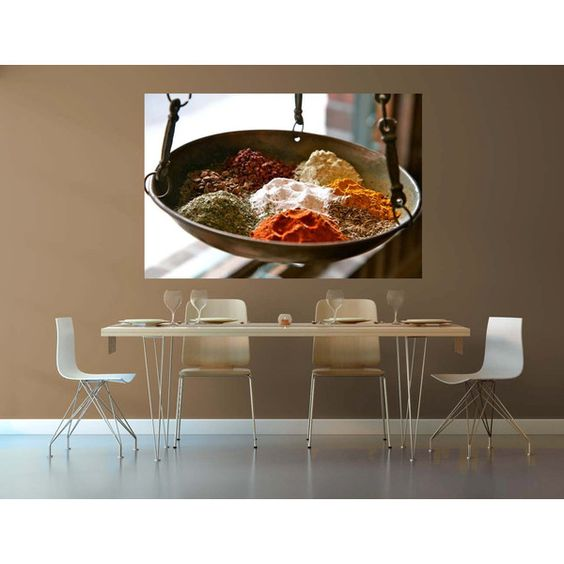 Photo of Spices - Kitchen Art - Spice Market - Food Photography -... ($30) ❤ liked on Polyvore