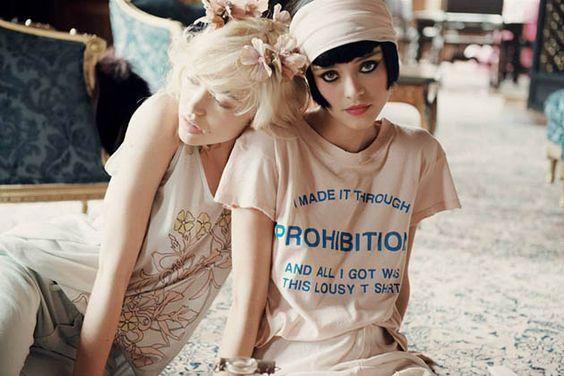 Wildfox Daisy's Girls Fall 2013 Lookbook  #fashion #wildfox #retro