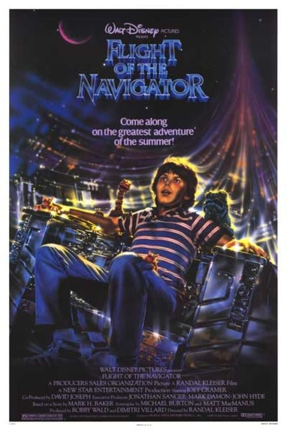 Flight Of The Navigator (1986) | 25 Movies From The '80s That Every Kid Should See