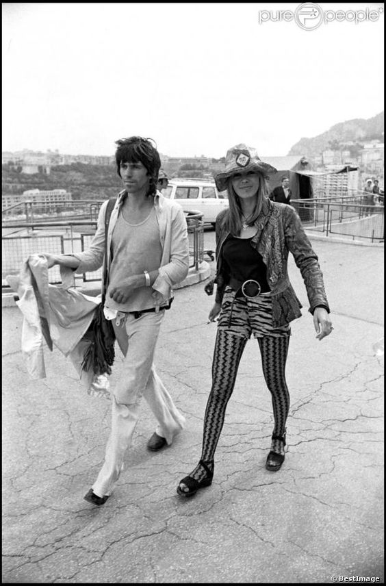 Keith Richards & Anita Pallenberg: