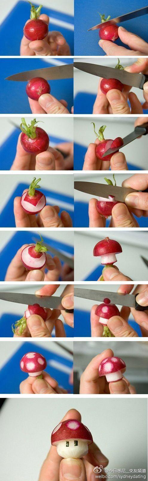 radis champignon