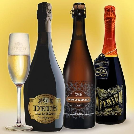 Forget the Champagne! Pop the cork to a fancy beer for your next toast. Here are a few we like.: Drinks Other, Fancy Drinks, Drinks Party, Drinks Celebrate, Fancy Beers