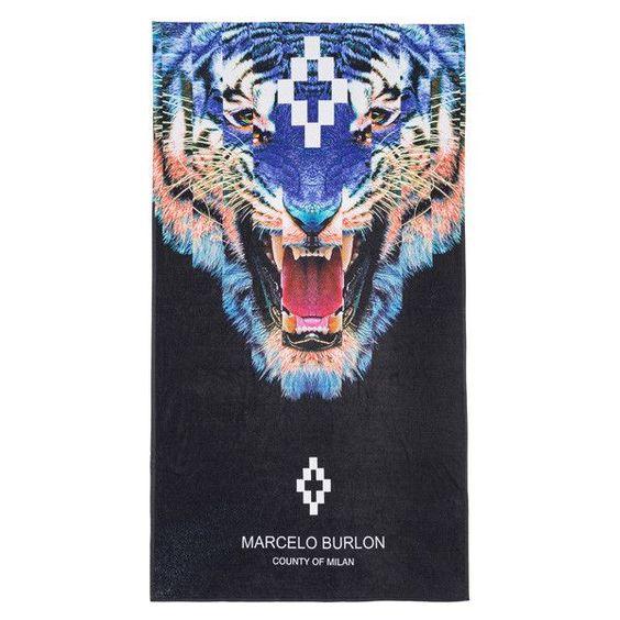 Marcelo Burlon Graphic Towel