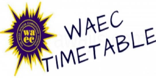 Waec Gce 2018 Examination Timetable Is Out Examination Timetable Literature Project School Certificates