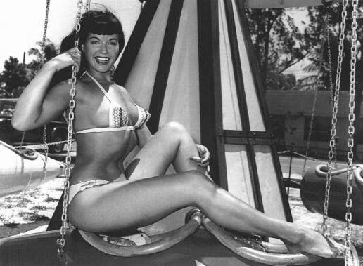 È' lei la regina delle pin-up, Bettie Page!