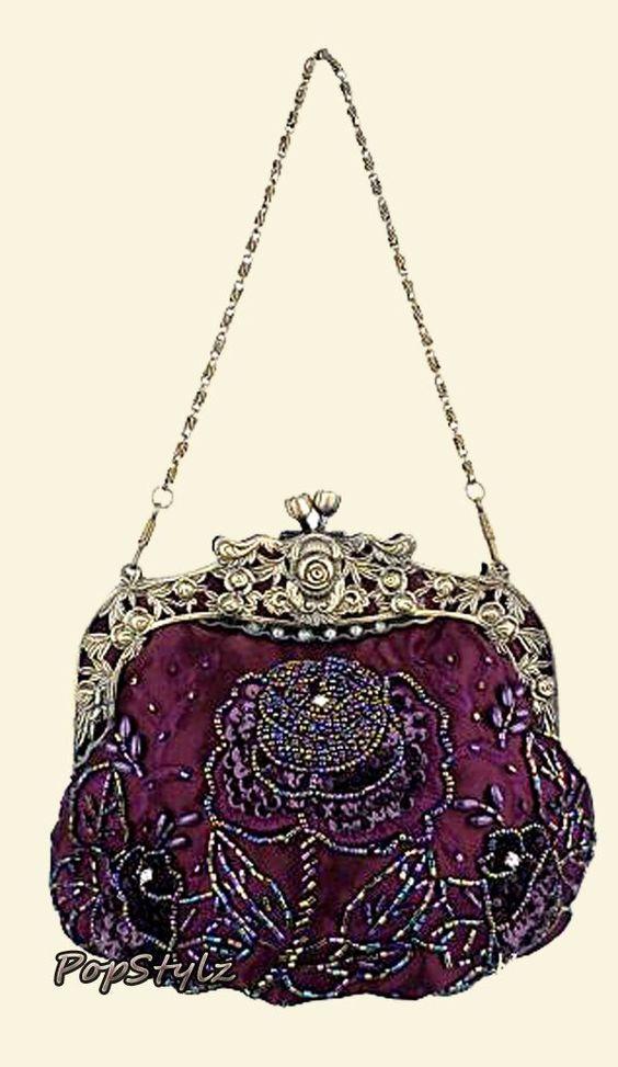 Evening purse ~ 1915 | Purses 1900 - 1920