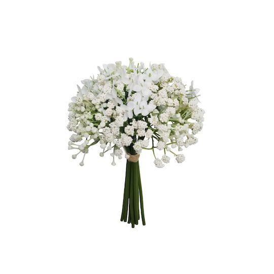 White Baby S Breath Bundle By Ashland In 2020 Beautiful Bridal Bouquet White Bridal Bouquet Babys Breath Bouquet