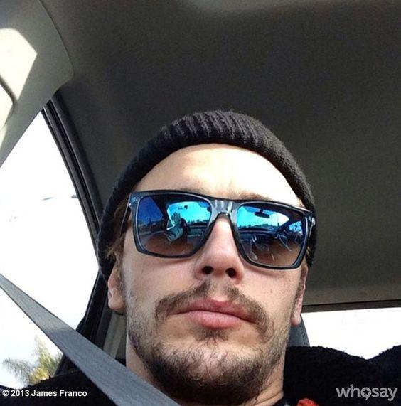 La twitpic de James Franco