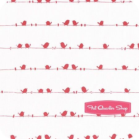Enchant Pink Birds Yardage SKU# C3473-PINK