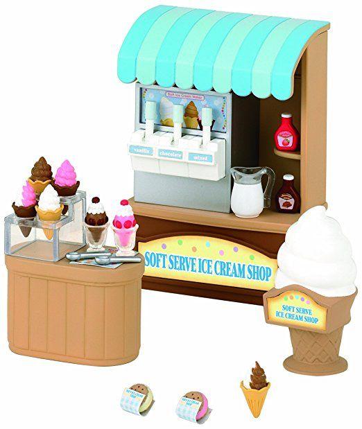 Sylvanian Families Soft Serve Ice Cream Shop