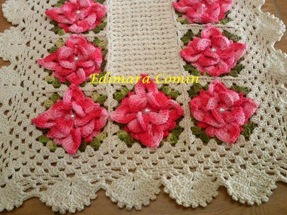 Tapete com a flor estrela for Rosa weiay gestreifte tapete