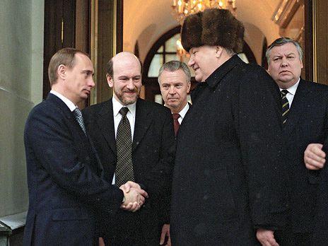 Картинки по запросу Путин и Ельцин