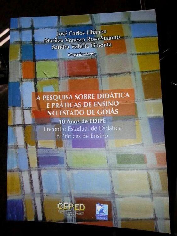 """Blog do Sérgio: """"A pesquisa sobre didática e práticas de ensino em..."""