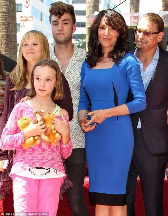 Katey Sagal and Kurt Sutter's family, Katey getting her ...