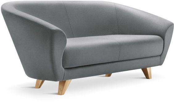 Contemporary Gray office sofa  #sofa #seating #grey