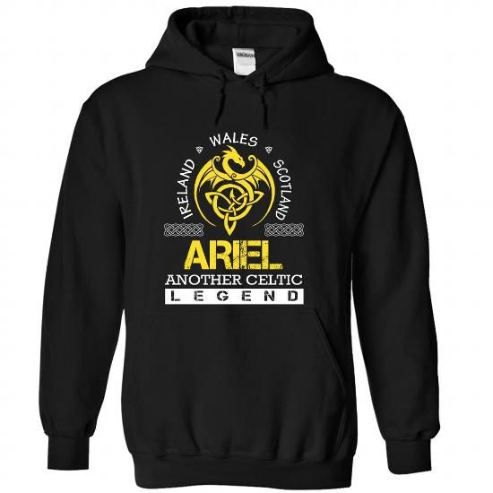 ARIEL - #gifts #thank you gift. BUY TODAY AND SAVE => https://www.sunfrog.com/Names/ARIEL-jpjlwkwjar-Black-35786610-Hoodie.html?68278