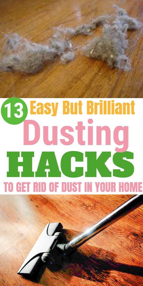 These Are Just A Few Smart Tricks From The Many Dusting Hacks That