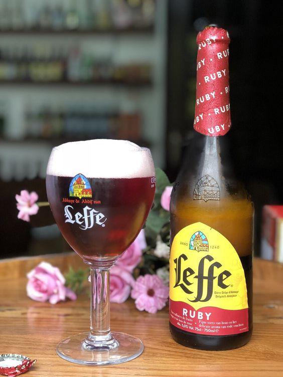 Bia Leffe Ruby 5% - Chai 750ml - Bia Bỉ Nhập Khẩu TPHCM