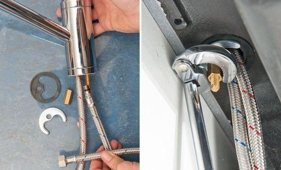 Plomberie Comment Raccorder Un Mitigeur Plomberie Bricolage Facile A Faire Depannage Plomberie
