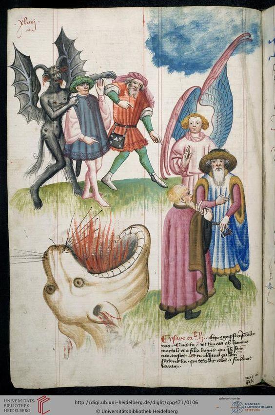 Cod. Pal. germ. 471 Hugo von Trimberg: Der Renner ; 'Tafel der christlichen Weisheit' — Nürnberg, 1425-1431/zwischen 1439 und 1444 Folio 47v