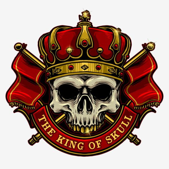 Vector Of Skull With King Crown And Kingdom Flag Skull Isolated King Png Transparent Clipart Image And Psd File For Free Download Ilustracoes Vetoriais Desenho De Coroas Rei Dos Desenhos