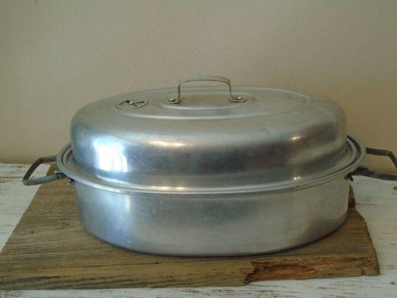 Aluminum vented chicken turkey roaster from Mirro by justforewe2