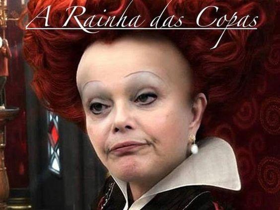 Dilma, a Rainha das Copas