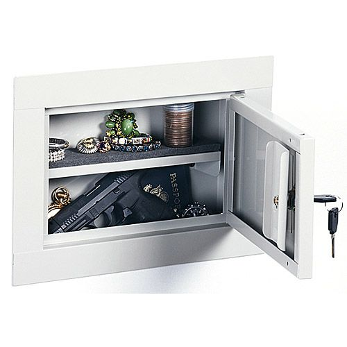 Stack On In Wall Pistol Cabinet Wall Stack Cabinet Wall Safe Home Safety Tips Home Security