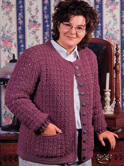Free Crochet Patterns Womens Jackets Crochet Free Jacket Pattern
