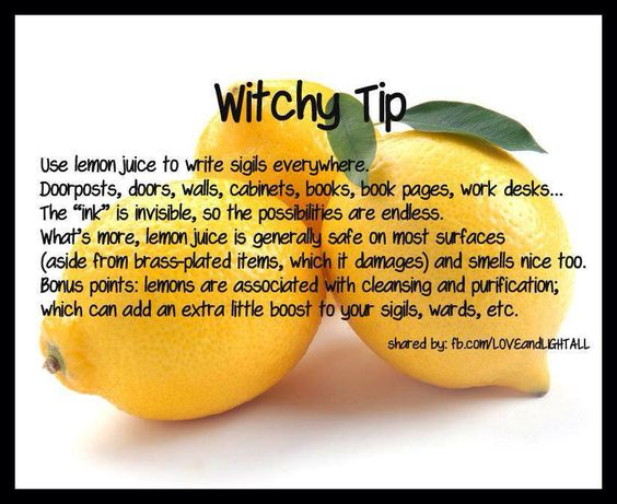 Lemons are ruled by the Moon and the Element of Water. The power of runes and…