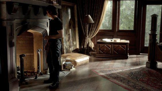 Damon Salvatore Bedroom