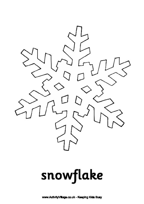 winter cut out coloring pages - photo#9