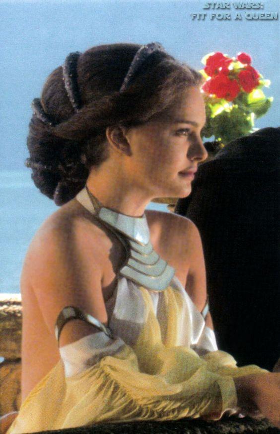 Amazing Star Wars Padme Amidala Lake Dress Side View Yeah Im A Geek Hairstyle Inspiration Daily Dogsangcom