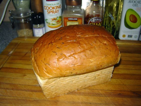 My Mother's Apron Strings: Barb's Dilly Bread