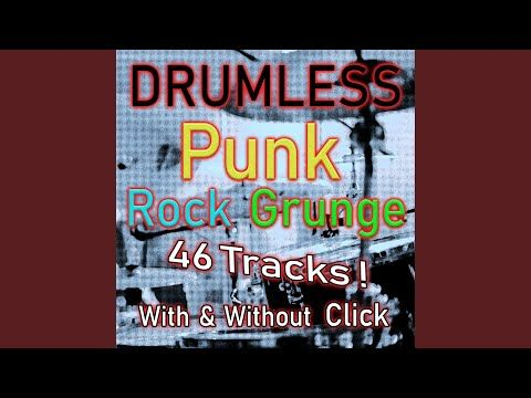 Sematary Punk Rock Drumless Backing Track No Drums 140 Bpm With Click Youtube Punk Rock Backing Tracks Punk Rock Grunge